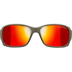 Julbo Montebianco Spectron 3CF Sunglasses Army/Camel/Orange-Red